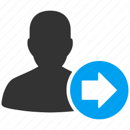 account, avatar, client, contact, customer, forward, human, manager, member, people, person, profile, user, users icon
