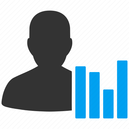Activity, bar chart, customer, flow, statistics, visitors, visits ...