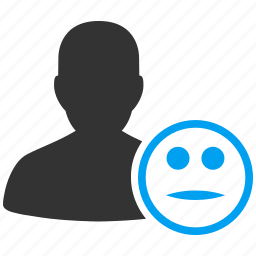 account, avatar, client, contact, customer, human, manager, member, neutral, people, person, profile, smiley, user, users icon