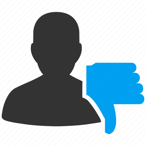 account, avatar, client, contact, customer, down, human, manager, member, people, person, profile, thumb, user, users icon