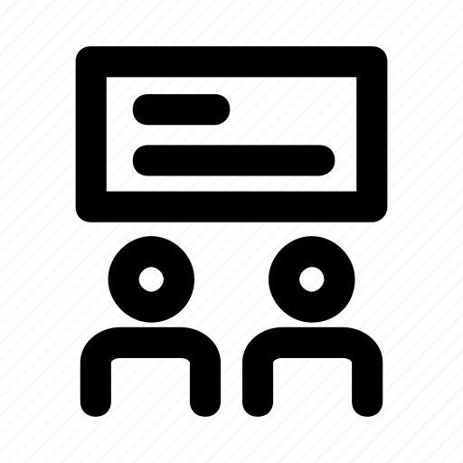 cinema, movie, screen, theatre, user icon