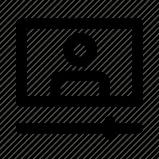 avatar, online, player, user, videochat icon