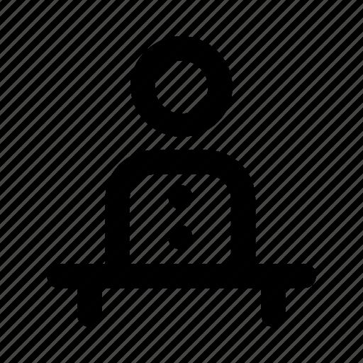 account, avatar, employee, man, user icon