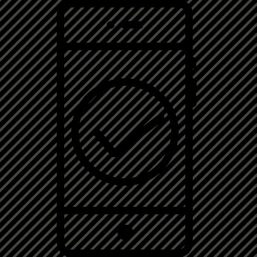 mobile, right, true, trust, verify, wright icon