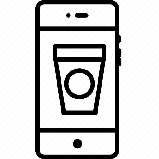 cloffee, cup, mobile, mug, tea icon