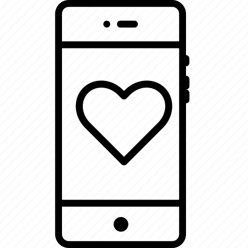 favorite, gift, heart, like, love, mobile, romance icon