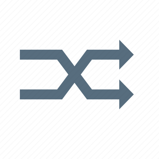 arrow, bidirectional, direction, mark, shuffle, twoway icon