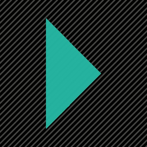 forward, next, play, replay icon