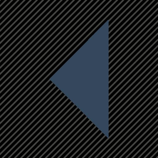 arrow, backward, play, previous, replay icon