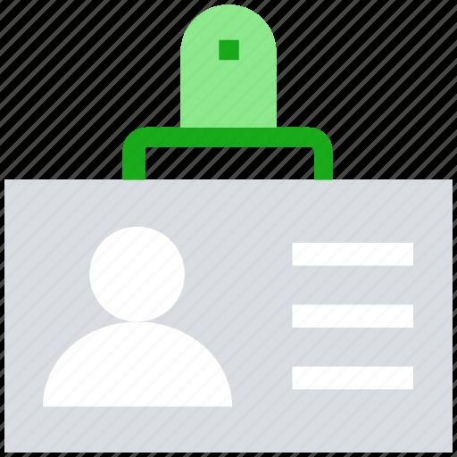 avatar, id card, information card, profile, user icon