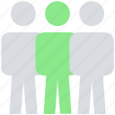 group, male, people, person, stand, team, users icon