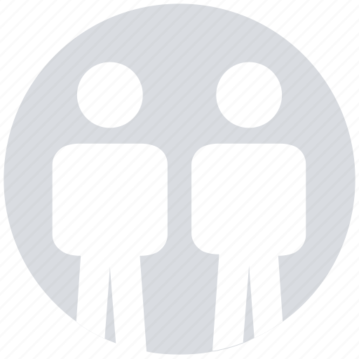 circle, group, male, people, person, team, users icon