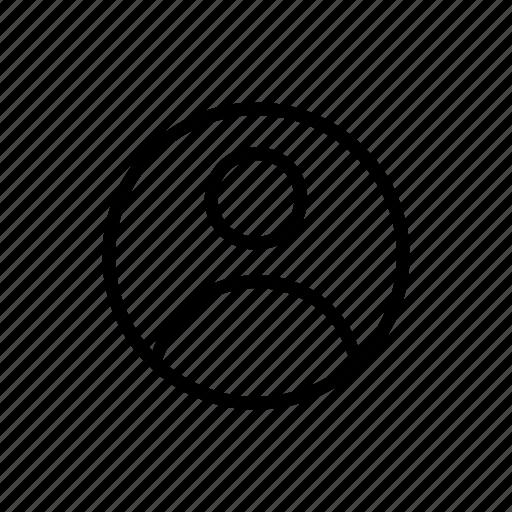 member, person, player, profile, user icon
