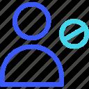 avatar, block, profile, user icon