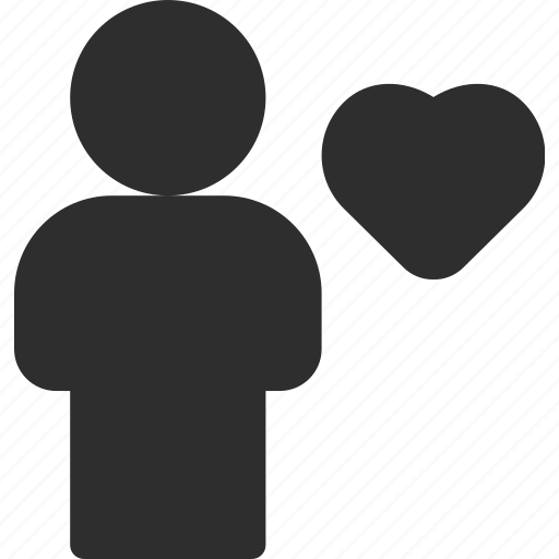 favorite, man, profile, user icon