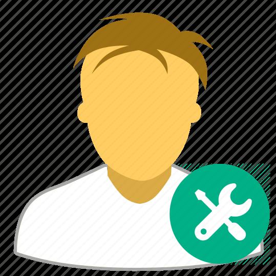 avatar, config, default, edit, user icon