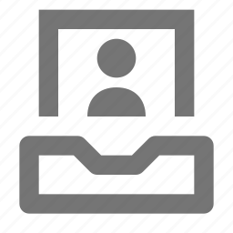 avatar, human, image, inbox, person, picture, profile, user icon