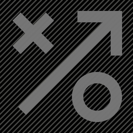 arrow, strategy, teams icon