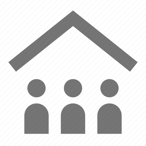 avatar, group, home, house, household, human, people, user icon