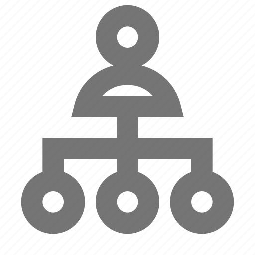 network, user icon