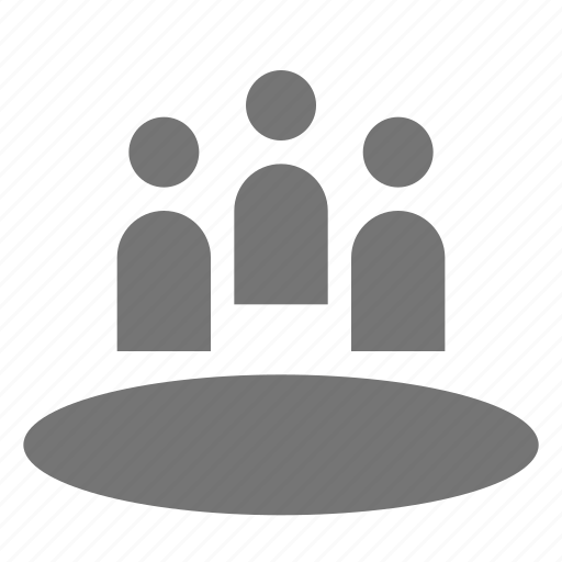 circle, group, meeting, users icon
