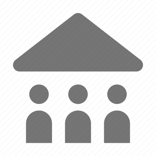 group, home, meeting, users icon