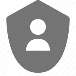 security, shield, user icon