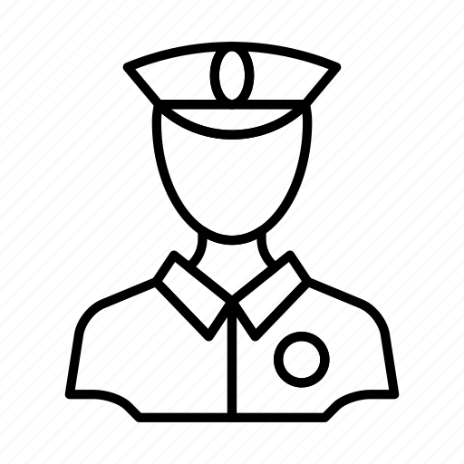 guard, man, officer, police, policeman, security icon