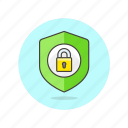 lock, security, sheild, system, users icon