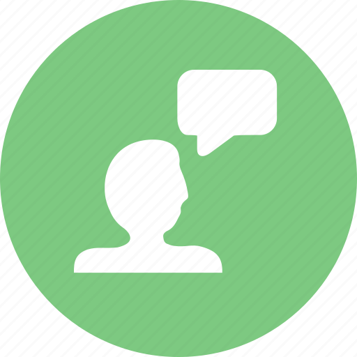 chat, comment, message, rate, reviews, talk icon