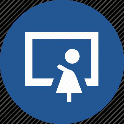 faqs, guide, help, teacher, tutorial icon