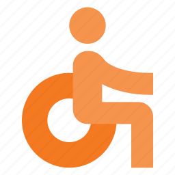 accessibility, disability, sign icon