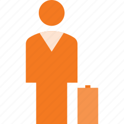 business, person, sign icon