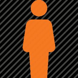 male, person, sign, user icon