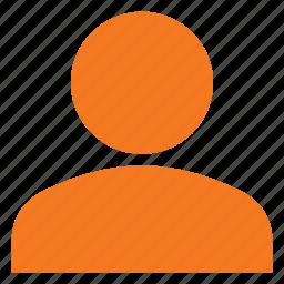 person, sign, user icon