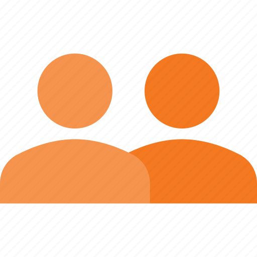 duble, partner, share, sign, users icon