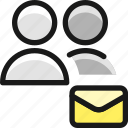 multiple, mail, actions