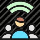 multiple, users, wifi