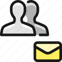 multiple, actions, email