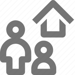 group, home, house, user icon