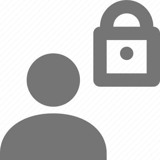 lock, security, user icon