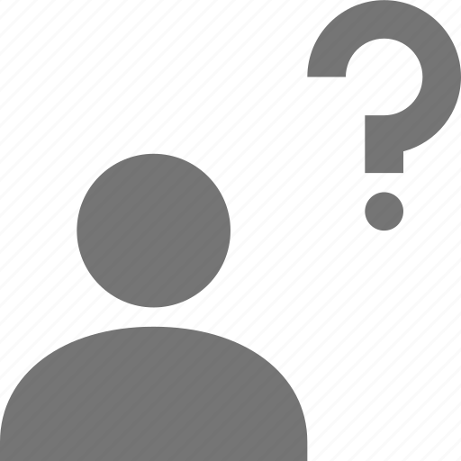 help, question, user icon