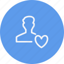 account, avatar, human, interface, navigation, sign, user icon