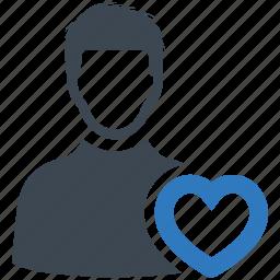 account, favorite, user icon