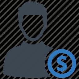 buyer, investor, seller icon