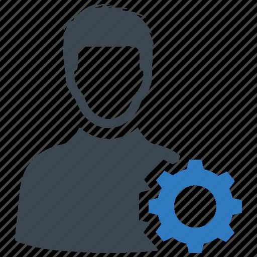 account, setting, user icon