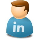 linkedin, user icon