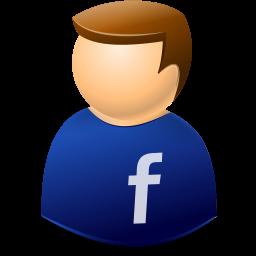 facebook, user icon