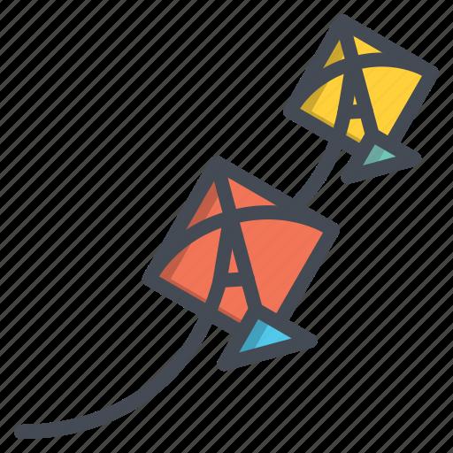 Festival, flying, kite, makara, sankranti, sky, uttarayan icon - Download on Iconfinder
