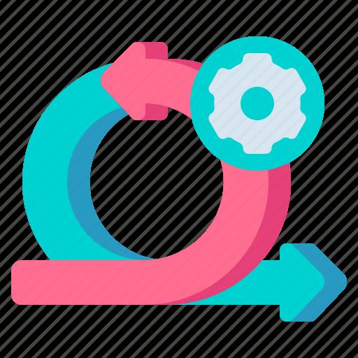 agile, coding, development, ux and ui icon